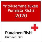 Yrityksemme tukee Punaista Ristiä 2020